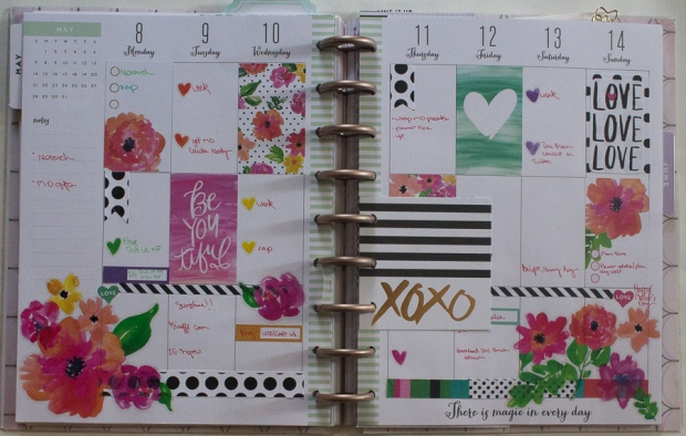 May 8-14 Happy Planner Spread