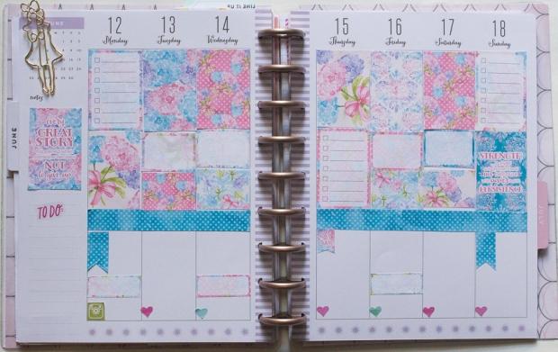 Happy Planner Weekly Spread | Jen Manis Creates