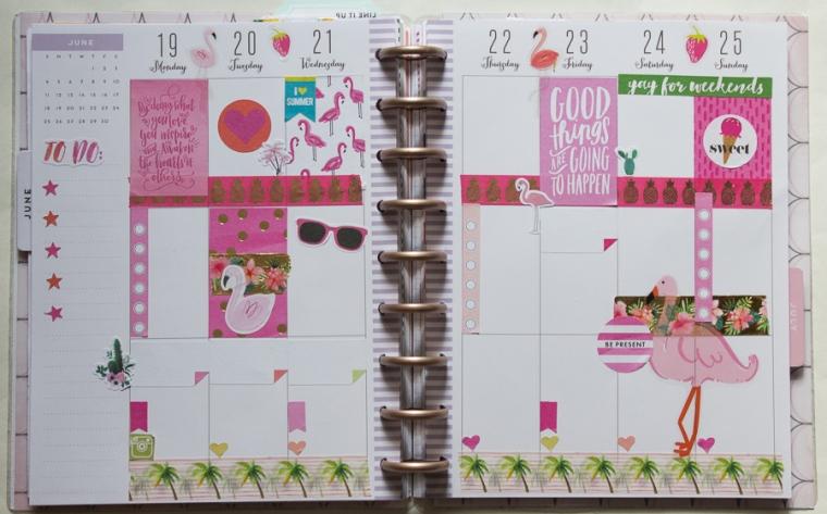 Happy Planner Weekly Spread | JM Creates
