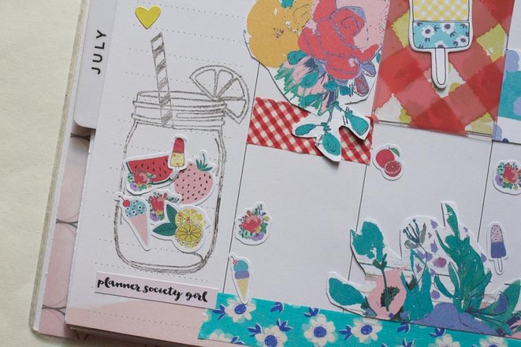 The June Planner Society Kit in Happy Planner   JM Creates