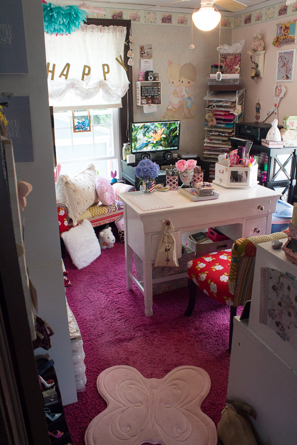 Creative Space | Home Office | Scrap Room | Jen Manis Creates