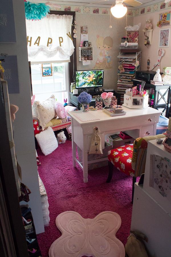 Creative Space | Home Office | Scrap Room | Jen Manis Creates