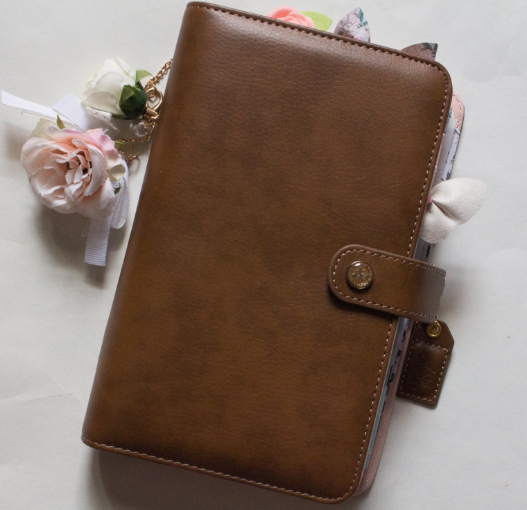 Walnut Webster's Pages Personal Planner   JM Creates