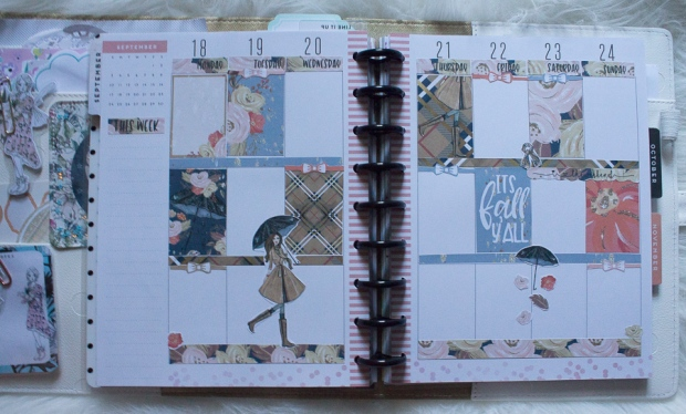 Happy Planner Weekly Spread feat. BeaYOUtiful Planning | JM Creates