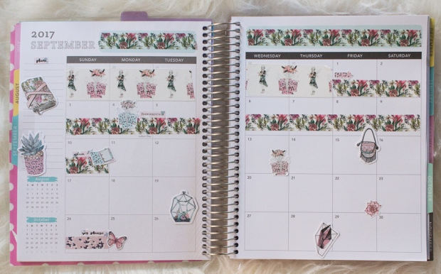 Recollections September Monthly Spread feat. The Planner Society | JM Creates