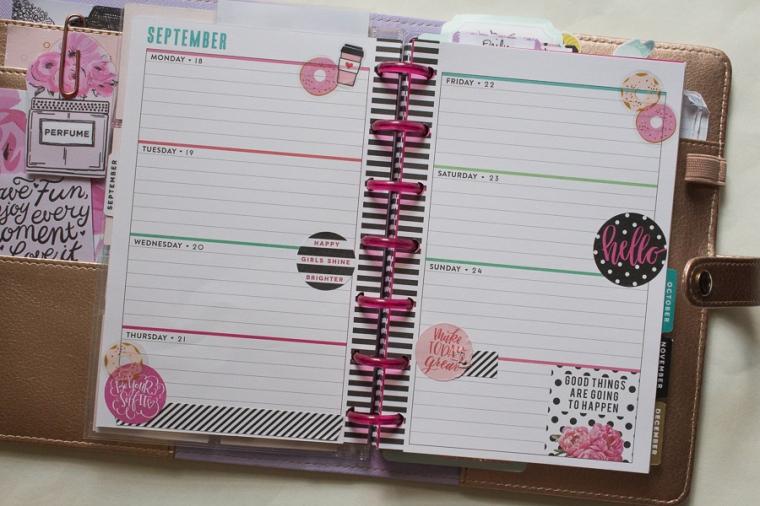 Mini Happy Planner Weekly Spread | JM Creates