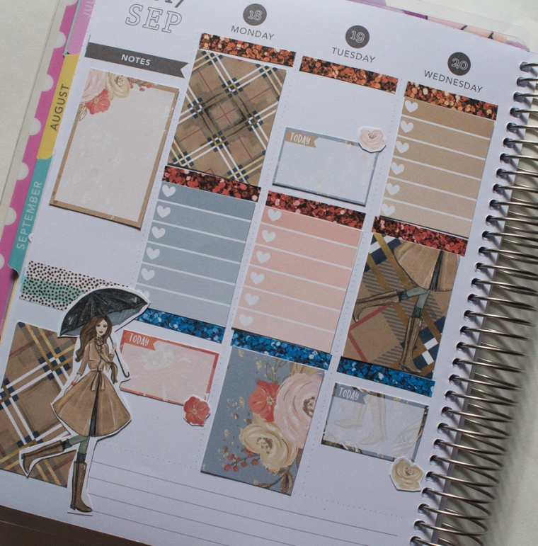 Recollections Weekly Spread | JM Creates
