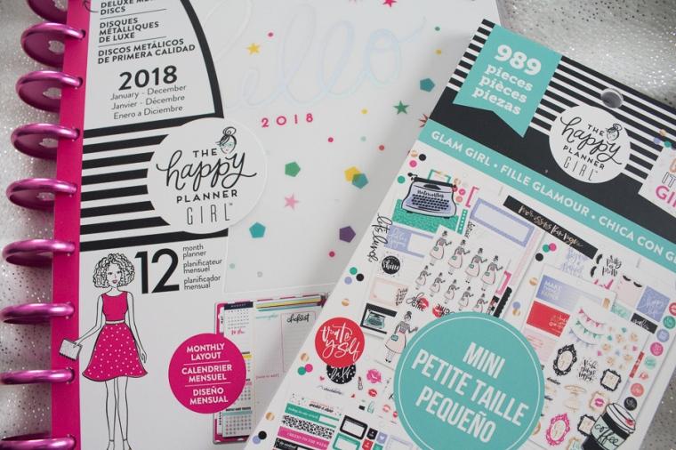 Happy Planner Girl Haul | JM Creates