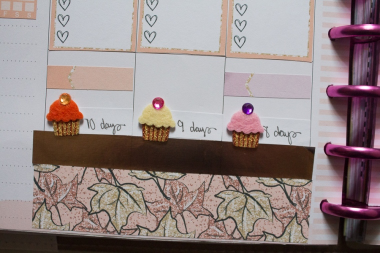 Fall Happy Planner Weekly Spread feat. Paper Crown Planner | JM Creates Blog