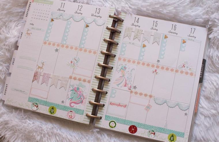 Happy Planner Weekly Spread feat. Love, Charmaine | JM Creates Blog