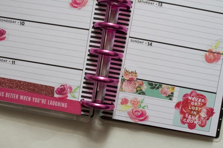 My 2018 Mini Happy Planner | JM Creates Blog