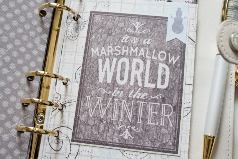Winter Personal Planner Setup | JM Creates Blog