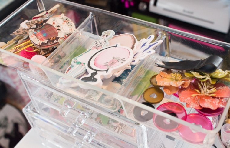 Workspace Wednesday Storage Solutions feat. The Planner Society Kits | JM Creates Blog