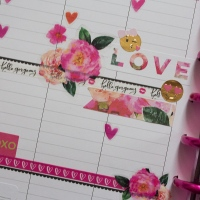 Happy Planner Weekly Spreads | Valentine's Day | February 12-18