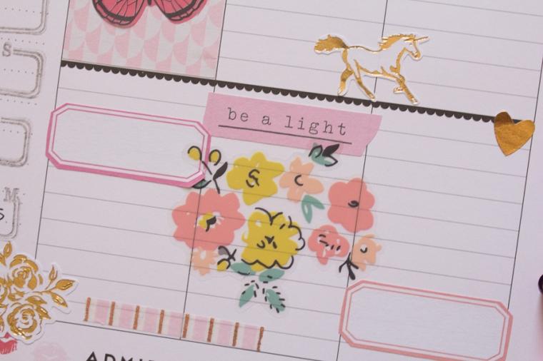 Happy Planner Weekly Spread feat. Maggie Holmes | JM Creates Blog