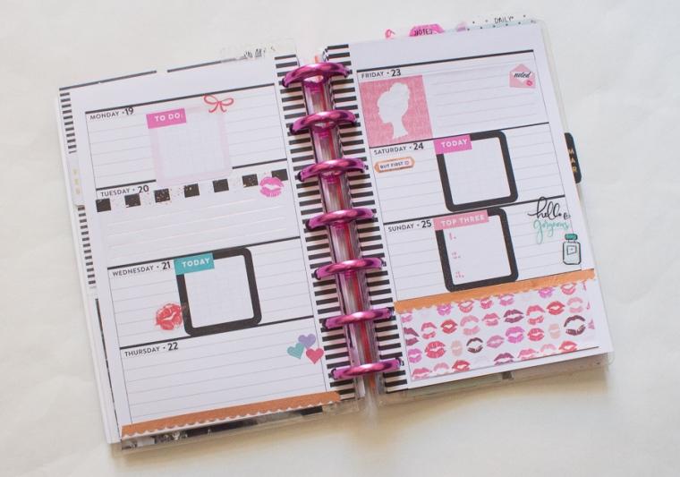 Mini Happy Planner feat. Glam Girl | JM Creates Blog