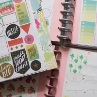 How To Make Your Own Happy Planner Sticker Book