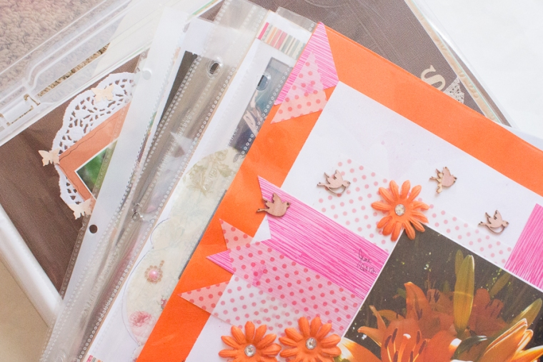 Workspace Wednesday Storage Solutions | Scrapbook Paper | JM Creates Blog