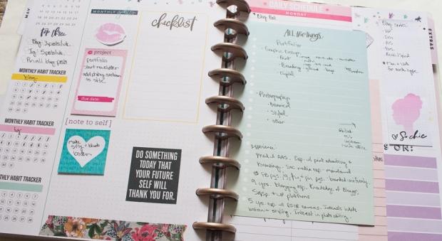 Current Happy Planner Setup   JM Creates Blog