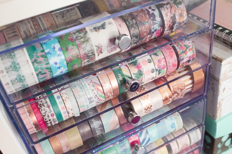 Washi Wednesday | New Acrylic Organizers! | JM Creates Blog