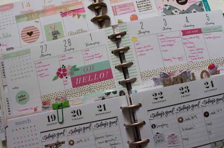 My Happy Planner Collection | JM Creates Blog
