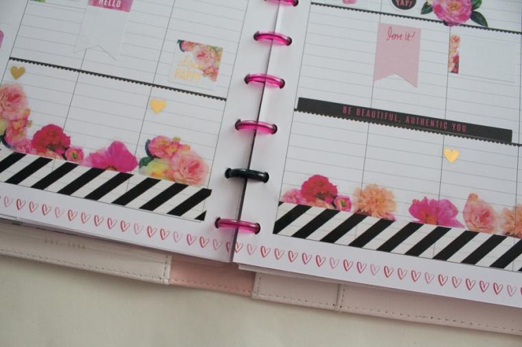 Happy Planner Weekly Spread feat. Heidi Swapp | JM Creates Blog
