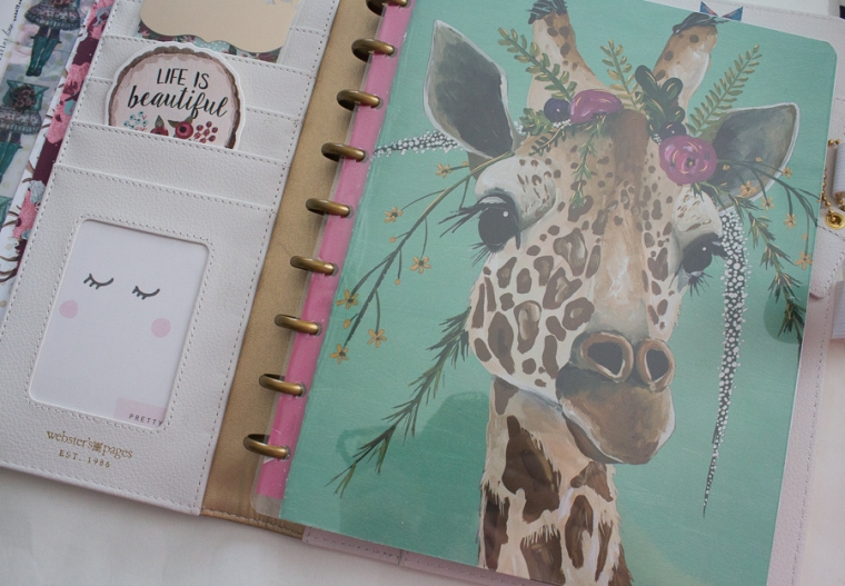 Webster's Pages Composition Planner- Happy Planner Hack! JM Creates Blog