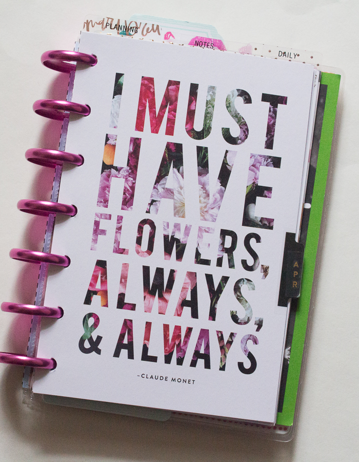 Mini Happy Planner | JM Creates Blog