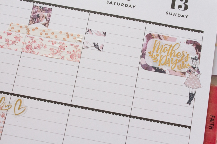 Happy Planner Weekly Spread feat. The Planner Society | JM Creates Blog