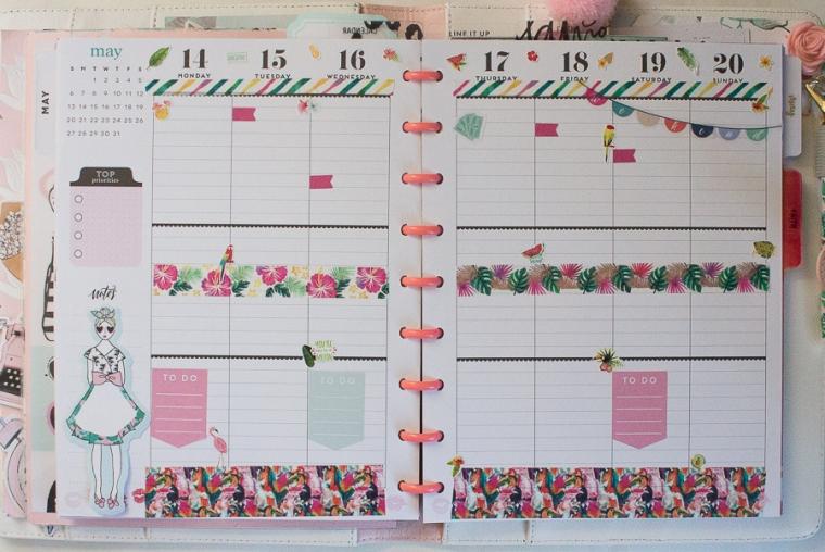Happy Planner Weekly Spread | JM Creates Blog
