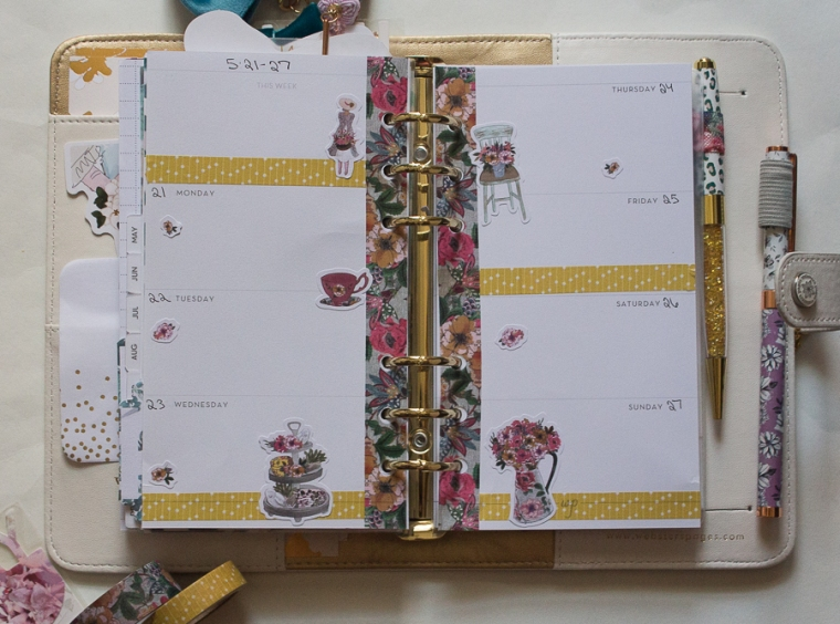 Webster's Pages Personal Planner Weekly Spread   JM Creates Blog