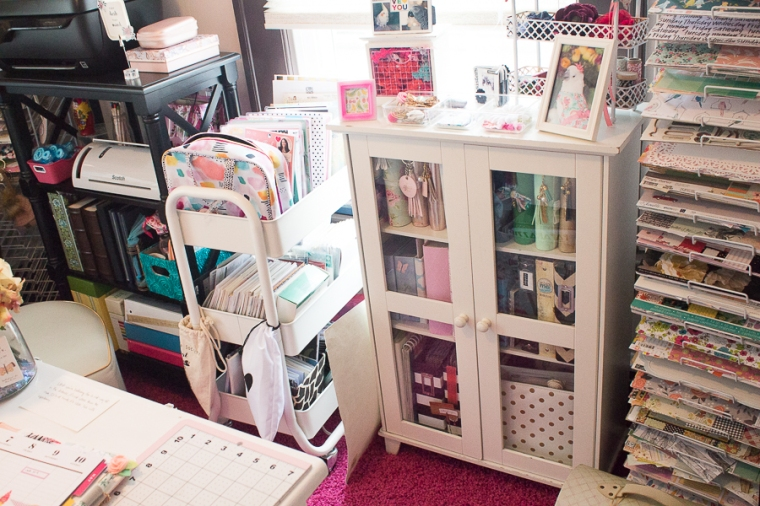 Craft Room Summer Refresh | Created by Jen Blog