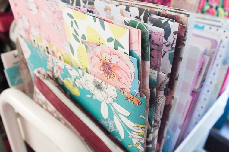 The Planner Society Kit Storage Ideas | Created by Jen Blog