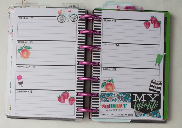 Mini Happy Planner as a Memory Keeper | Created by Jen Blog