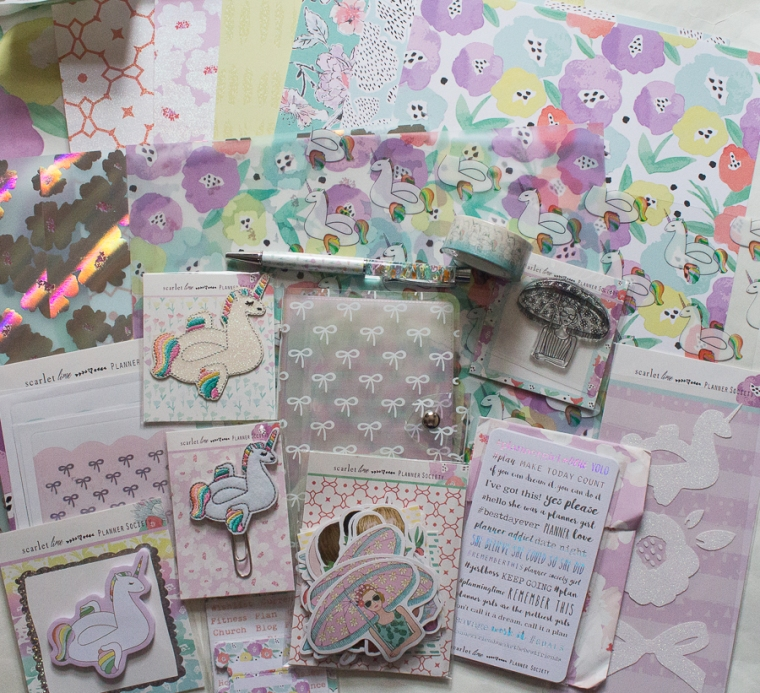 The Planner Society July 2018 Kit | Created by Jen Blog