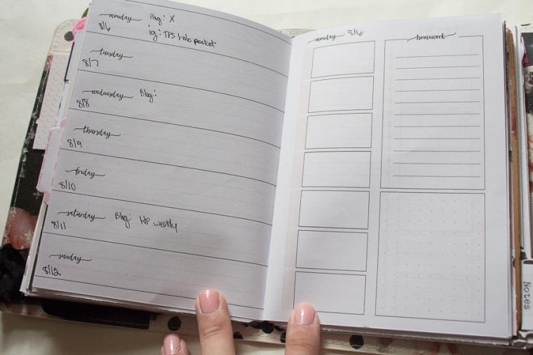Planner Society B6 Setup | Created by Jen Blog