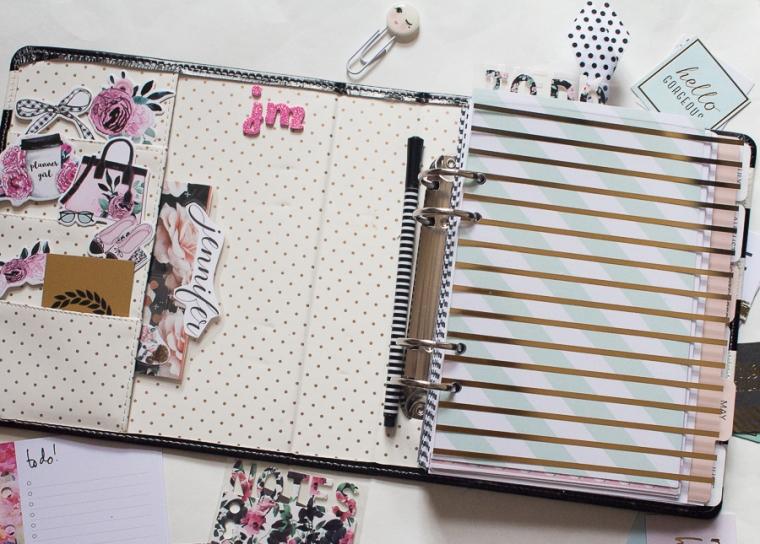 Heidi Swapp Memory Planner | Created by Jen Blog