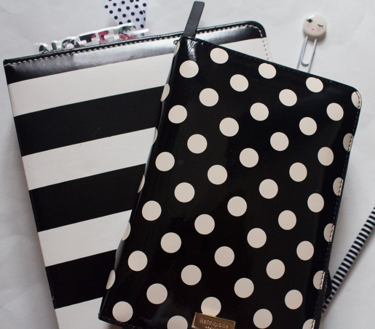 Black & White Planners | Created by Jen Blog