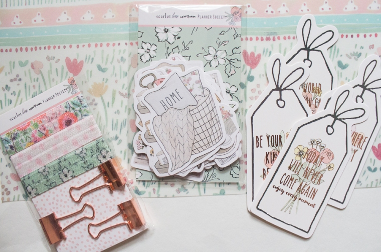 The Planner Society August 2018 Kit | Created by Jen Blog