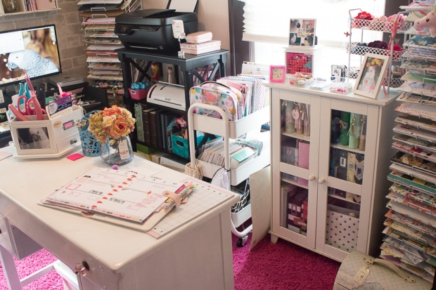 Craft Room Evolution | Created by Jen Blog