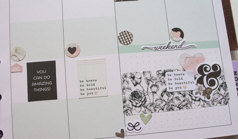 Student Happy Planner Weekly Spread feat. Carpe Diem | Created by Jen Blog