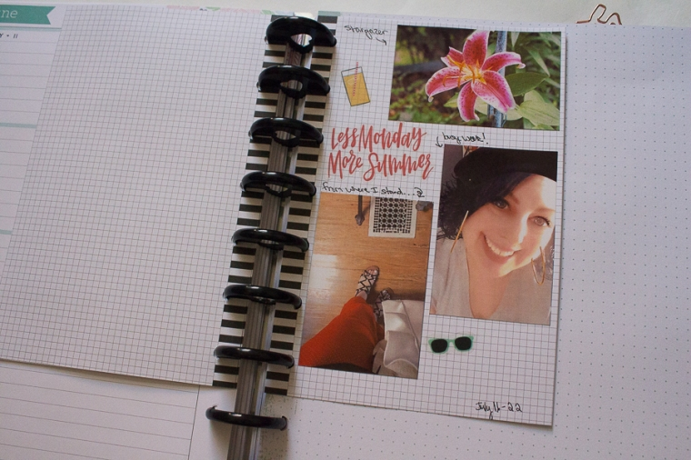 Happy Planner as a Memory Planner | Created by Jen Blog