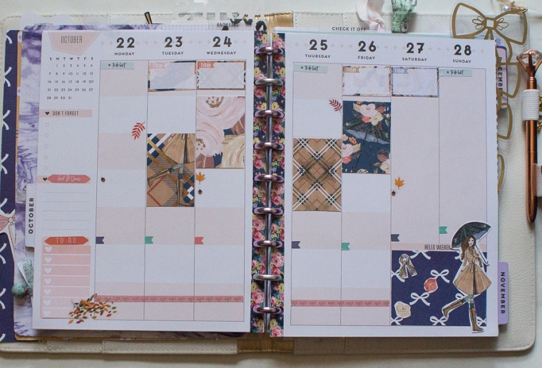 Happy Planner Wekkly Spread | Created by Jen Blog