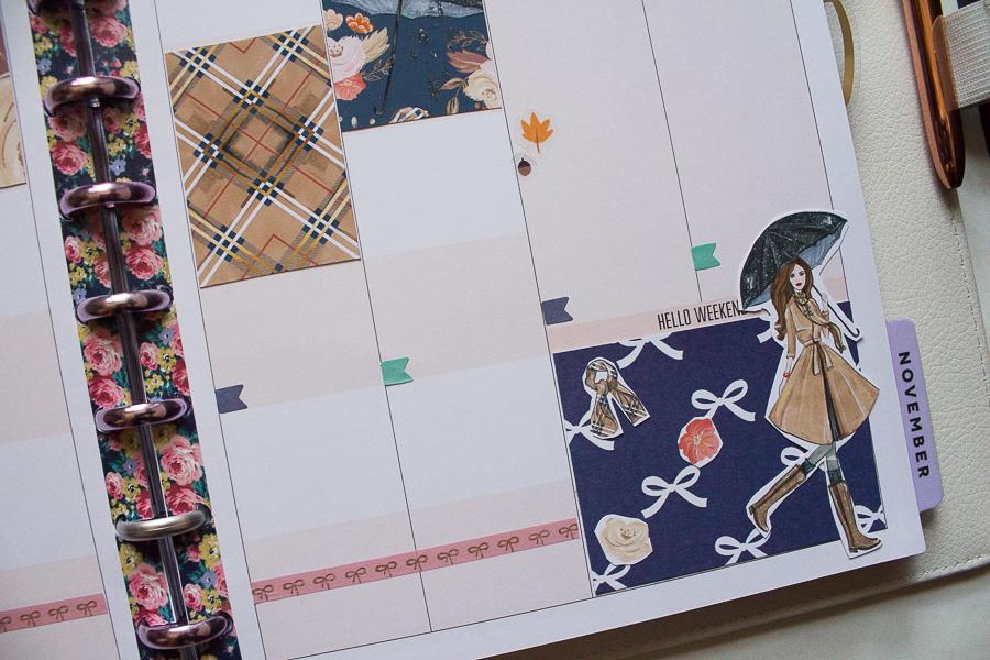 Happy Planner Wekkly Spread   Created by Jen Blog