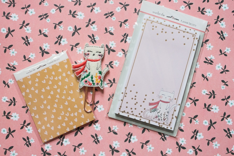 October 2018 Planner Society Box | Created by Jen Blog