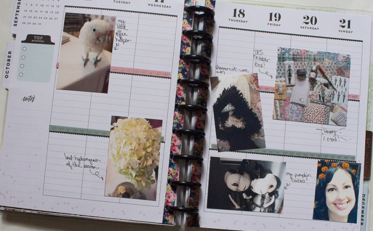Happy Planner Memory Planning | Created by Jen Blog