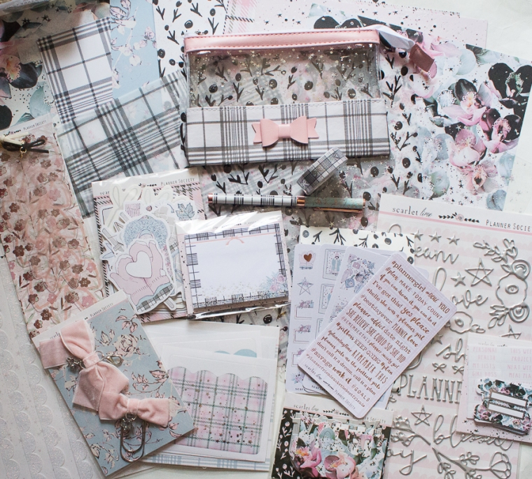 The Planner Society December 2018 | Created by Jen Blog