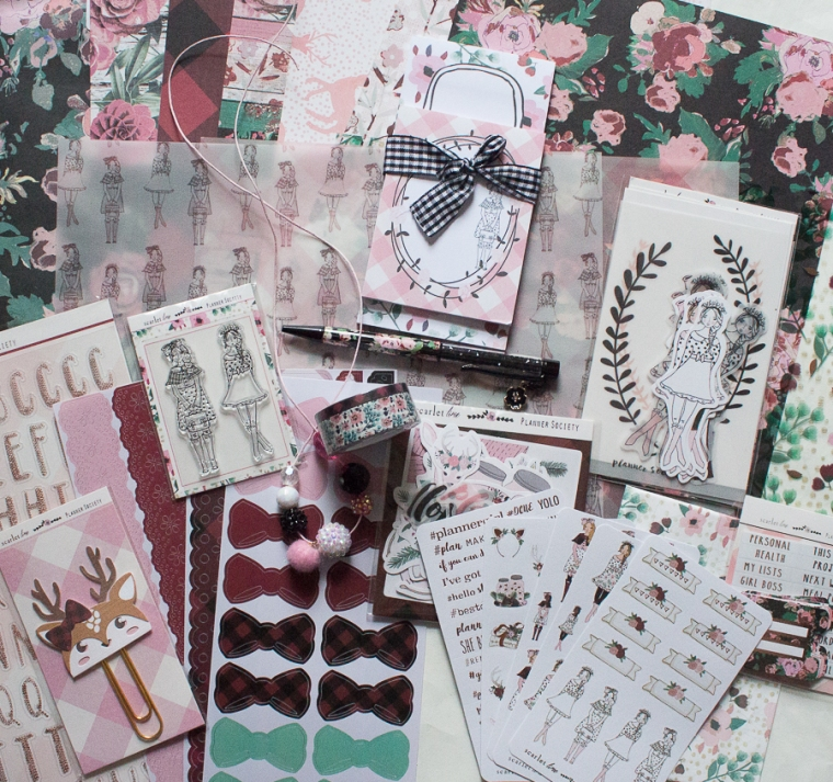 The Planner Society November 2018 | Created by Jen Blog