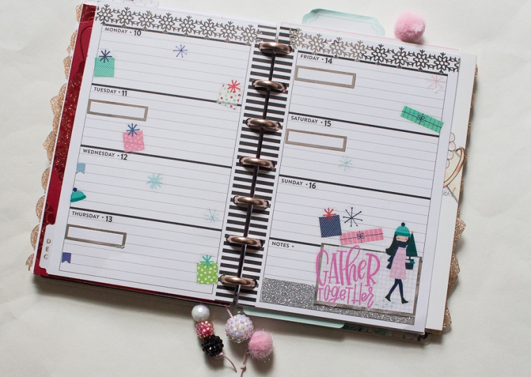 Mini Happy Planner | Christmas | Created by Jen Blog