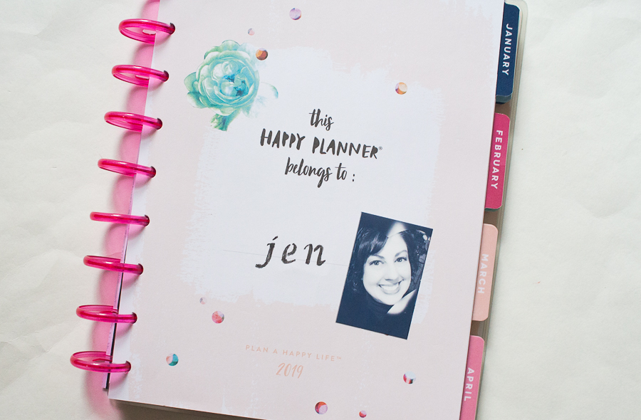 My 2019 Memory Planner | Created by Jen Blog